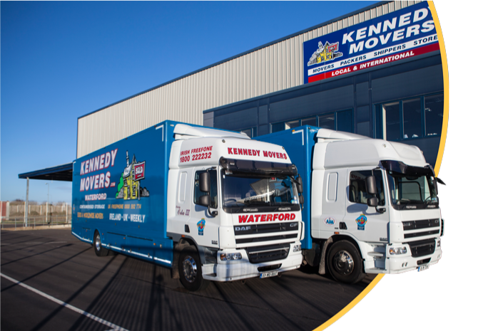 Kennedy Movers Waterford fleet